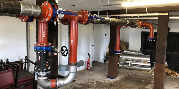 Commercial Hydronic Systems fabricaiton services