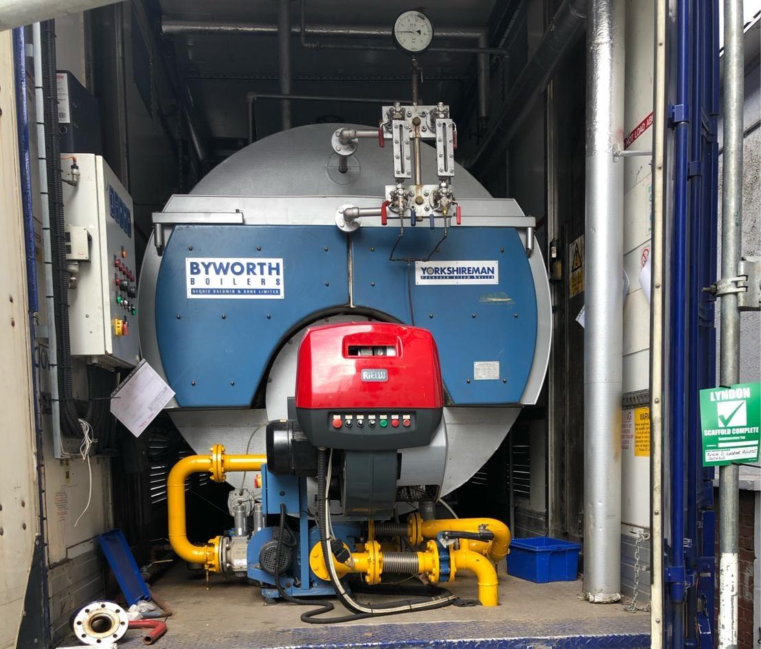 Temporary Boiler Installation